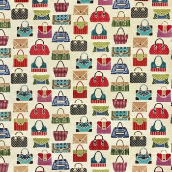 CHATHAM GLYN NEW WORLD TAPESTRY, BAGS.