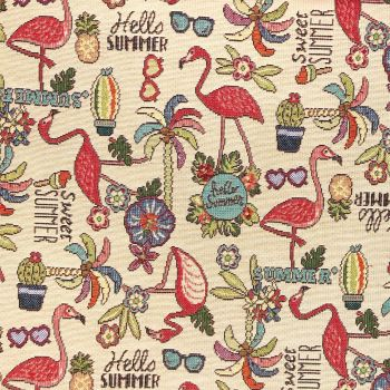 CHATHAM GLYN NEW WORLD TAPESTRY, TROPICAL.