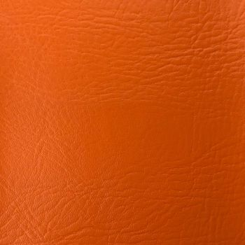 FR CERTIFIED CONTRACT GRADE UPHOLSTERY LEATHERETTE ORANGE