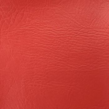 FR CERTIFIED CONTRACT GRADE UPHOLSTERY LEATHERETTE RED