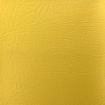 FR CERTIFIED CONTRACT GRADE UPHOLSTERY LEATHERETTE YELLOW