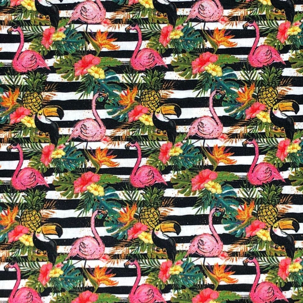 100% COTTON, 140 CMS WIDE. 'TROPICAL' RANGE, 4 DESIGNS TO CHOOSE FROM. DESI