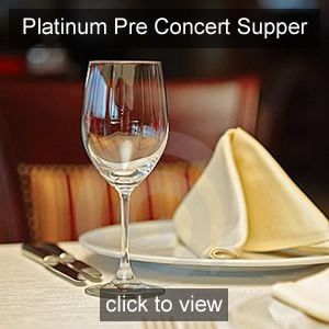 Nicola Benedetti Pre concert Supper Platinum Friend