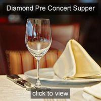 Nicola Benedetti Pre concert Supper Diamond Friend