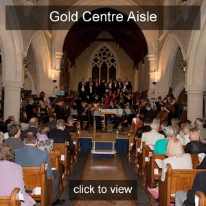 Nicola Benedetti Centre Aisle seats Gold Friend