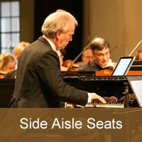 Howard Shelley 70th Birthday Concert Side aisle seatGeneral Booking