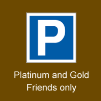 Enchantment Saturday 24th October  Parking Platinum or Gold Friend