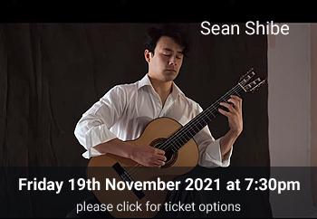 2 Sean Shibe<br>Friday 19 November 2021