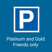 Sean Shibe Friday 19 November 2021 Parking Platinum or Gold Friend