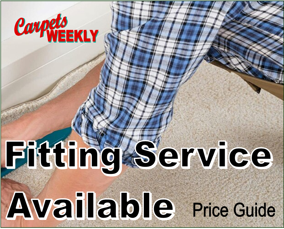 Full fitting service from Carpets Weekly