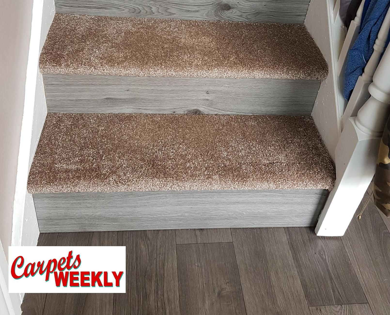 Carpets Weekly, Apollo Camel Carpet and Grey Oak Laminate 4