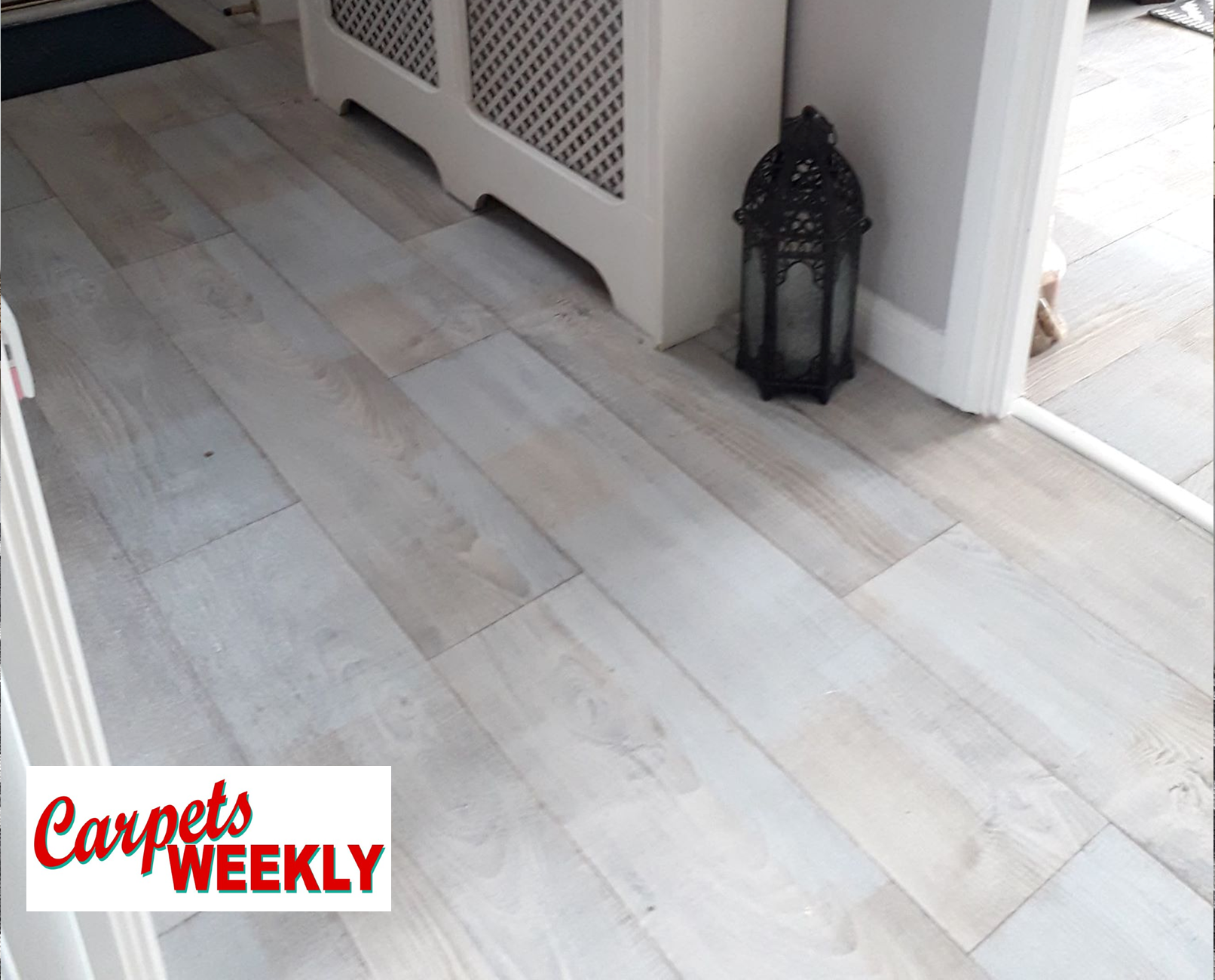 Carpets Weekly Everest Vinyl Flooring Hallway