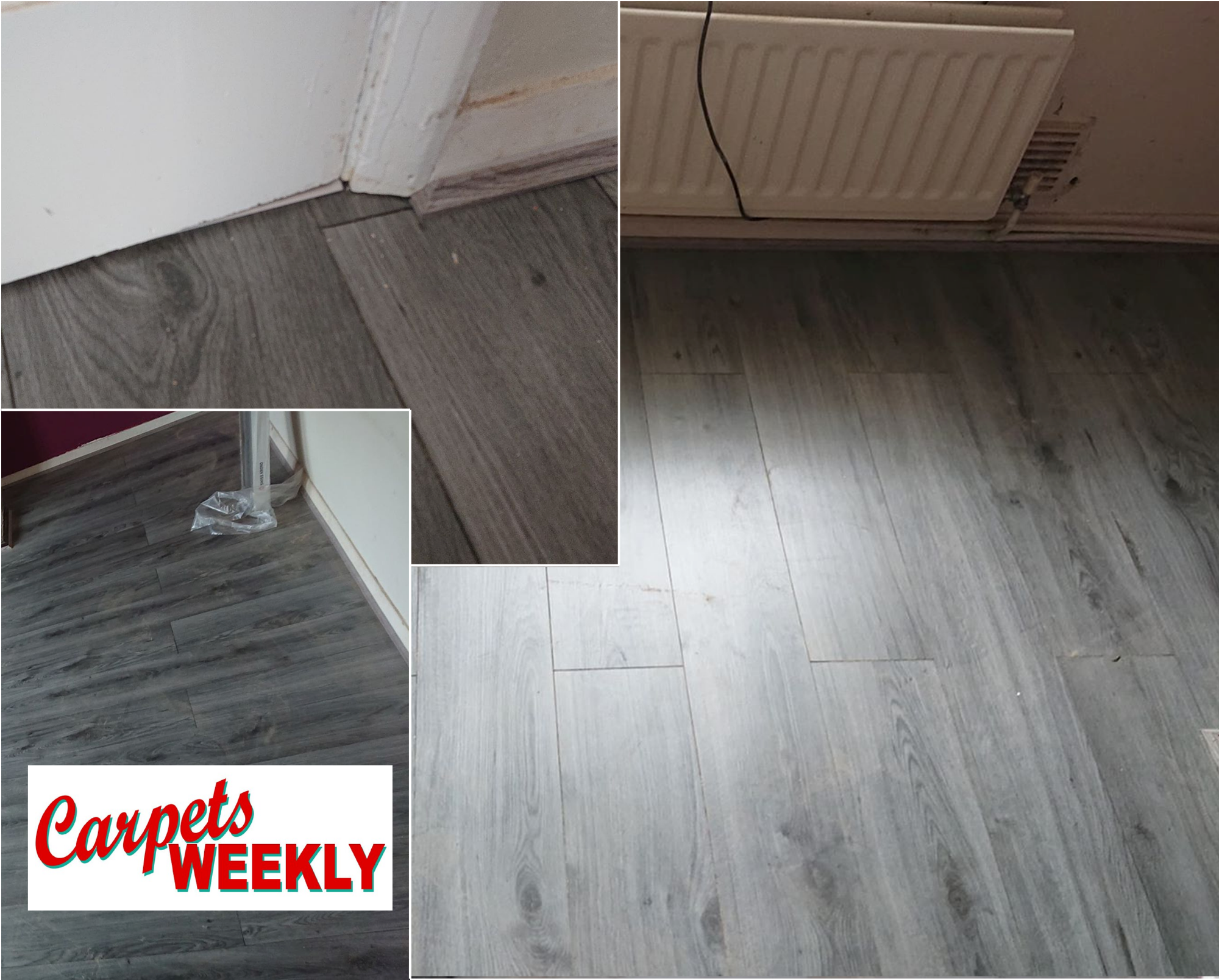 Carpets Weekly Oak Grey Laminate June 2019 1