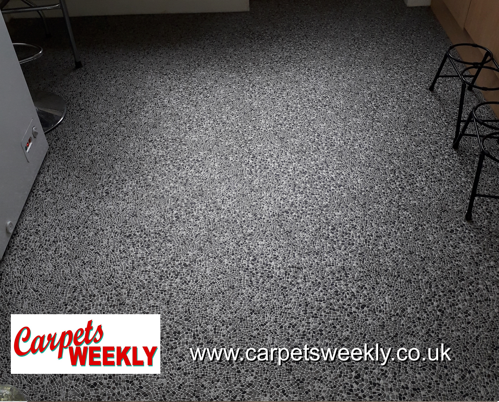 Fiora Alu Black Vinyl from Carpets Weekly