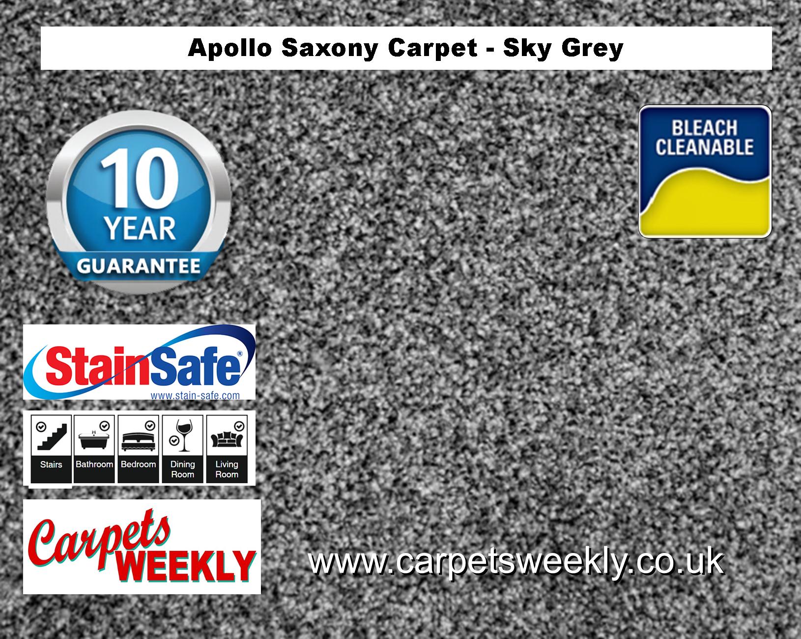 Carpets Weekly Apollo Sky Grey