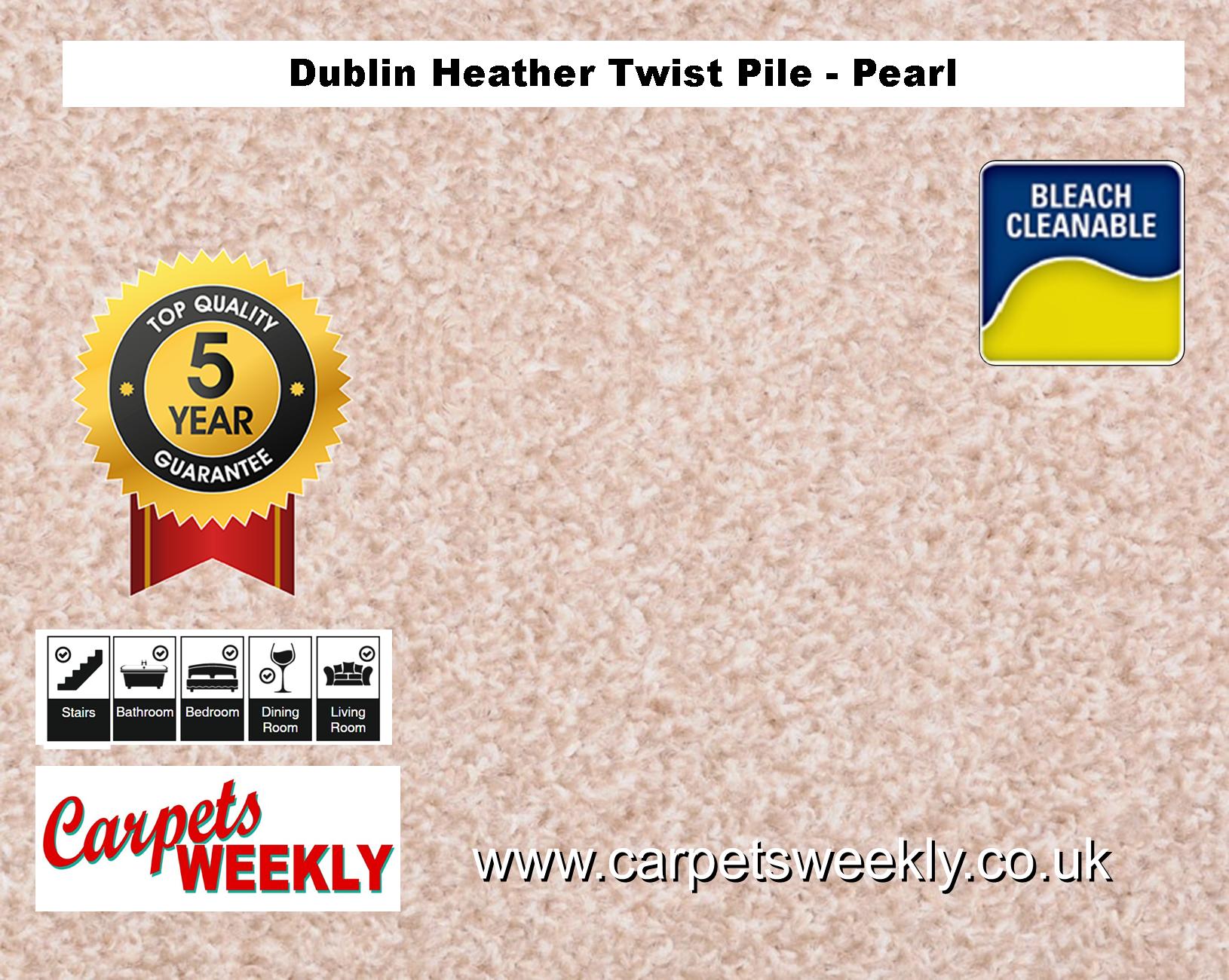 Carpets Weekly Dublin Heather Dublin Pearl - 305 mid range carpet