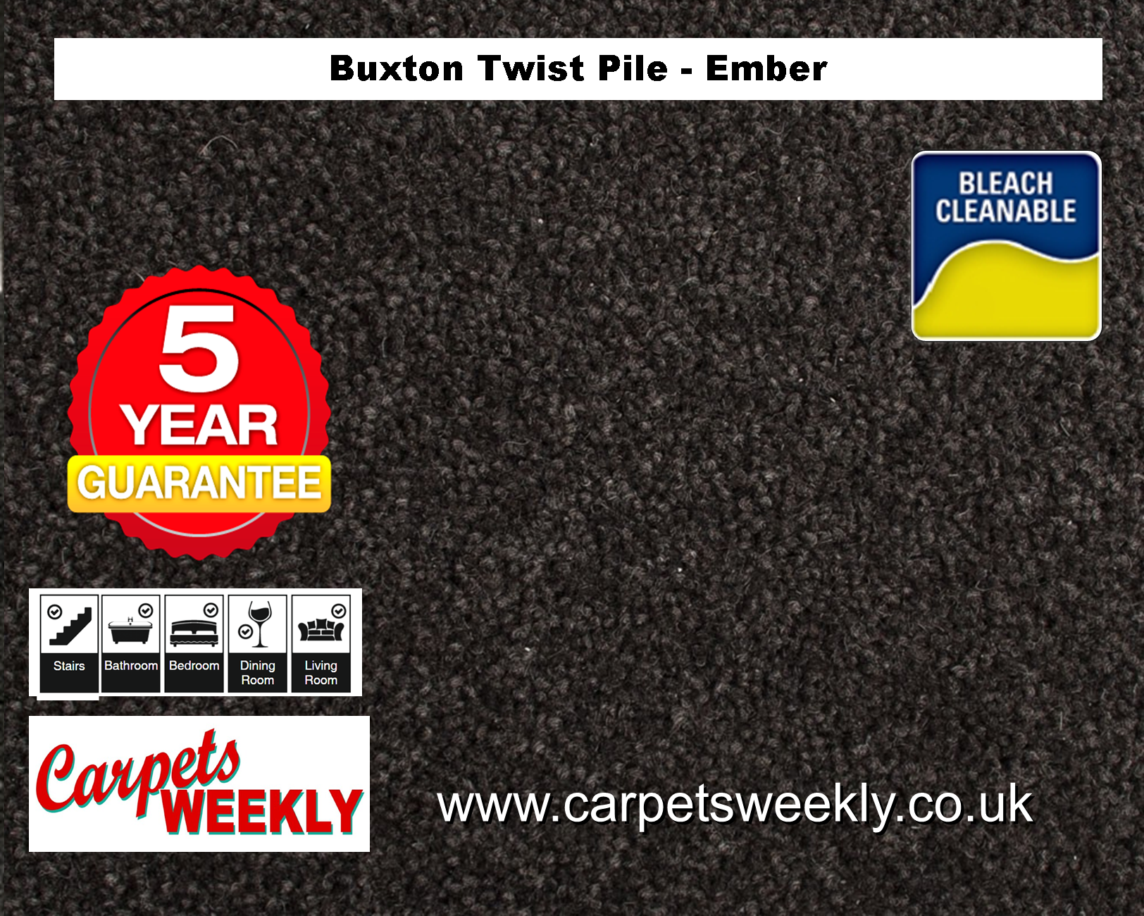 Carpets Weekly Buxton Ember