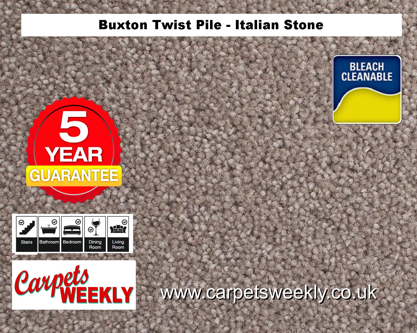 Carpets Weekly Buxton Italian Stone