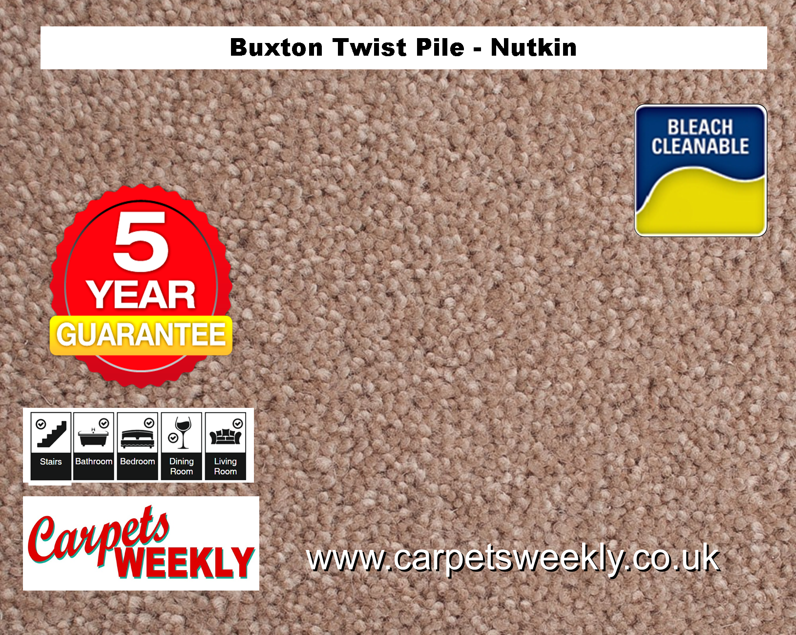 Carpets Weekly Buxton Nutkin Carpets