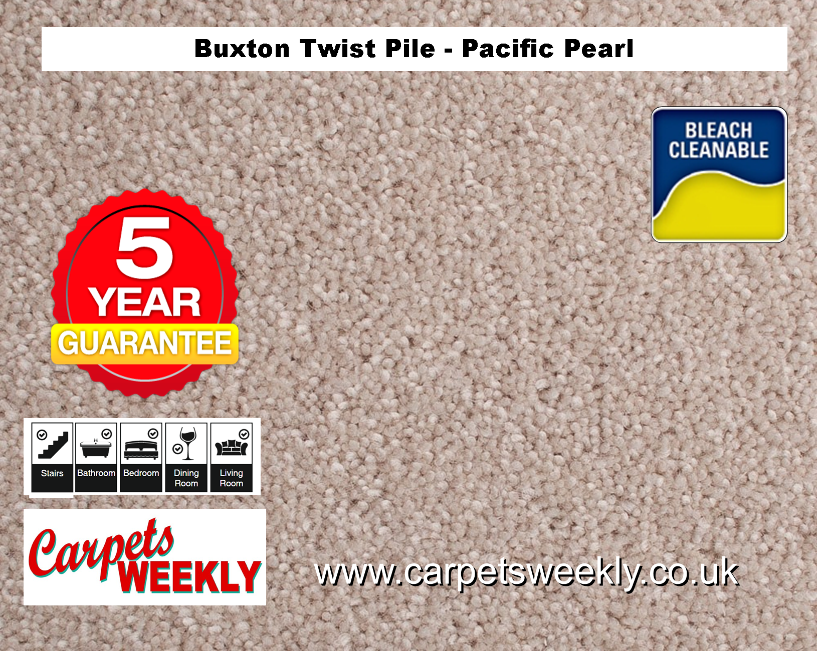 Carpets Weekly Buxton Pacific Pearl