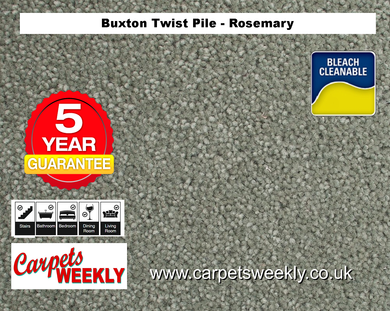 Carpets Weekly Buxton Rosemary