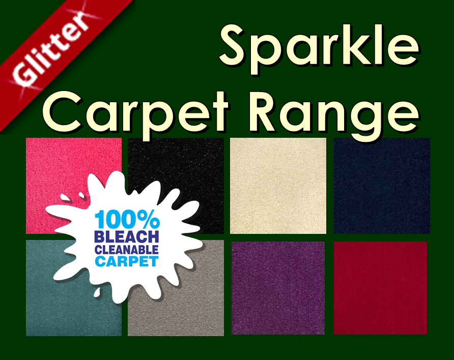 Sparkle Glitter Carpets from Carpets Weekly