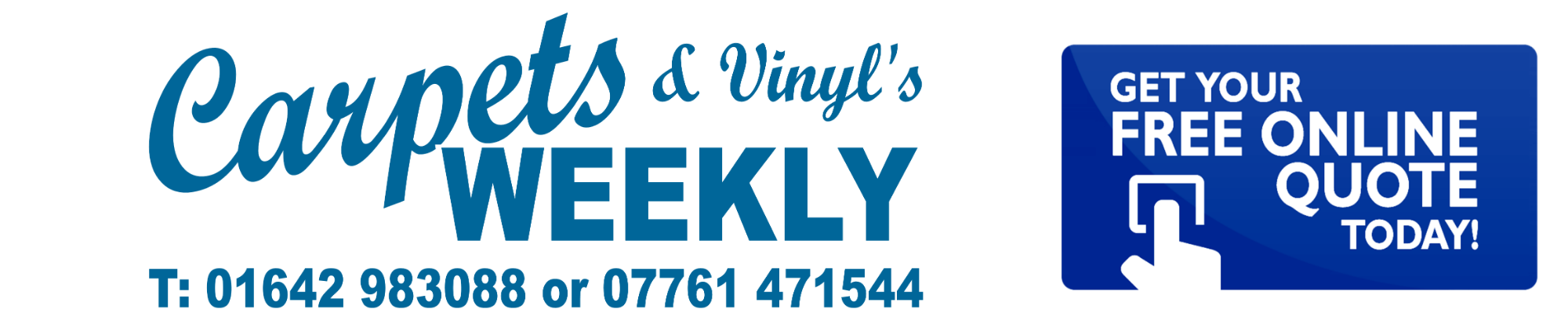 Free online quote today from Carpets Weekly Throughout Noth Yorkshire and the North East