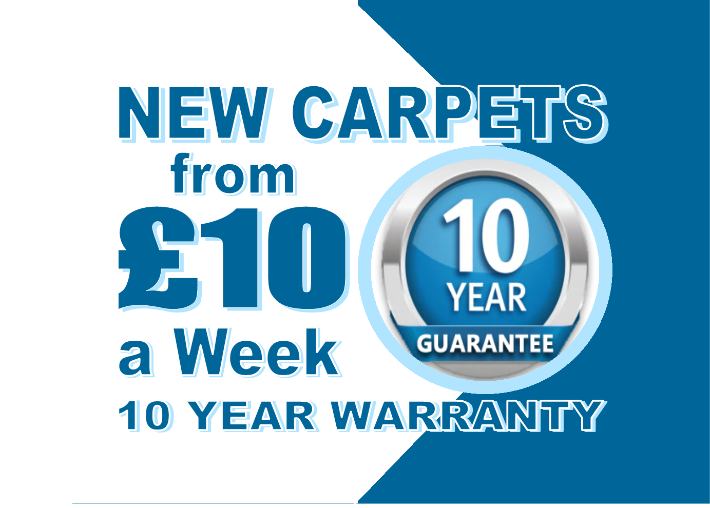 Carpets from £10 per week with Carpets Weekly