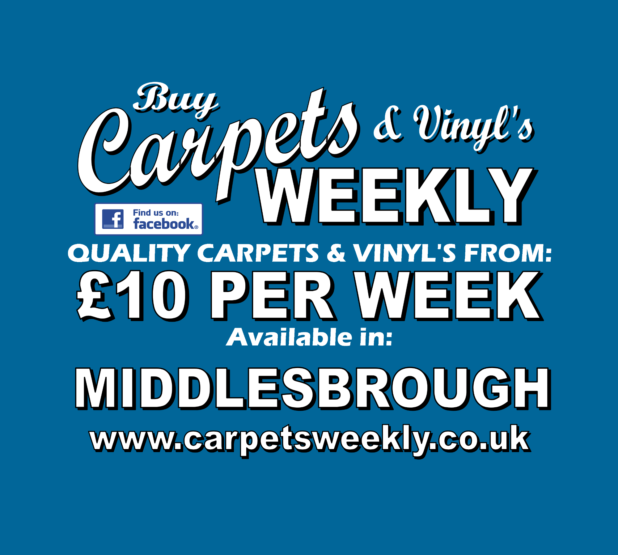 Carpets Weekly available in Middlesbrough