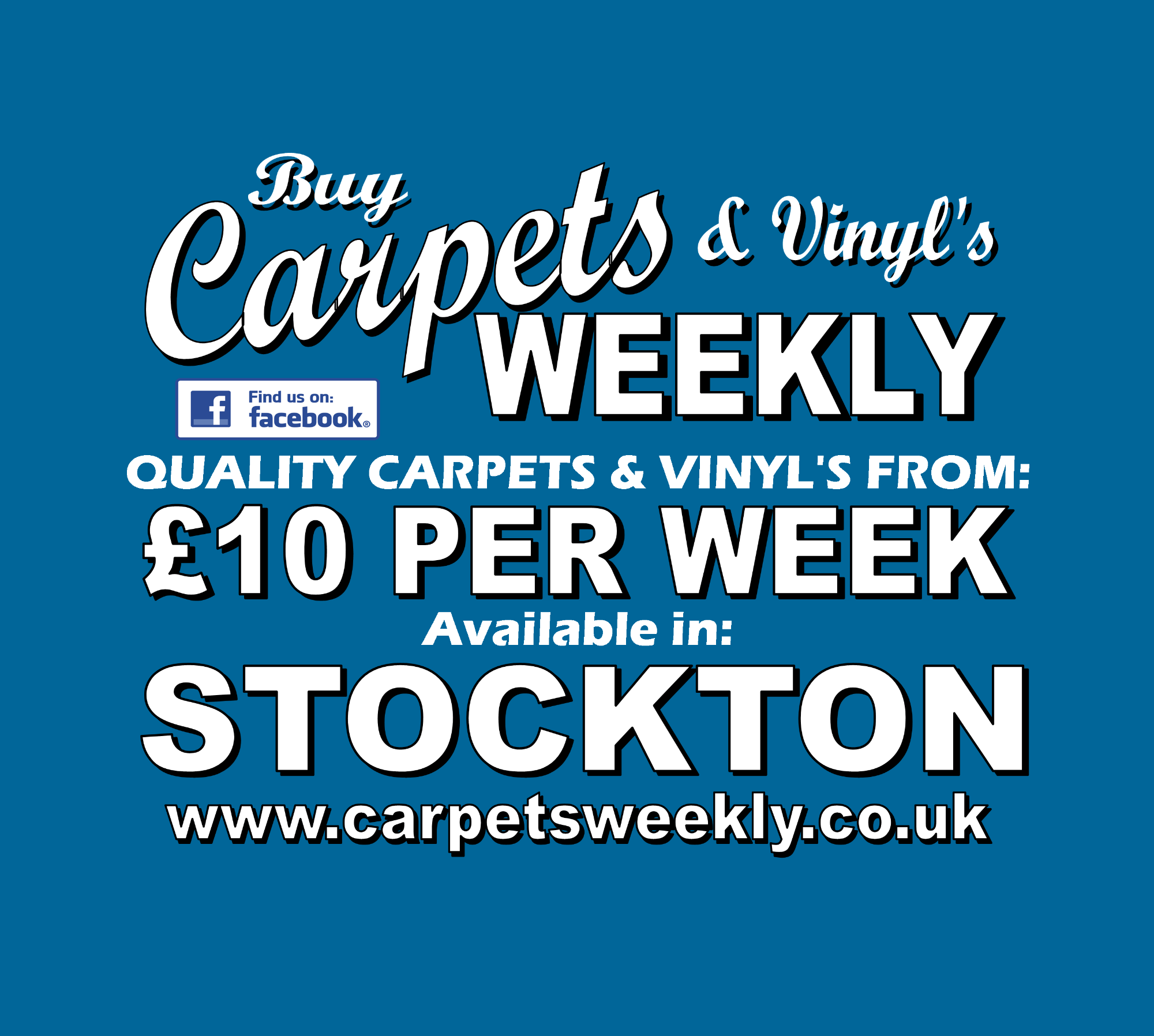Carpets Weekly available in Stockton on Tees
