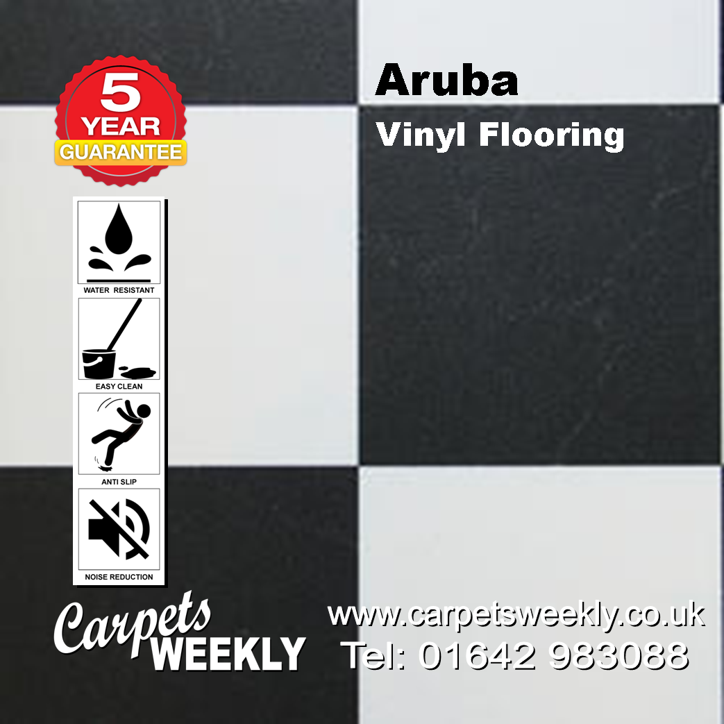 Aruba Vinyl Flooring by Floor Touch from Carpets Weekly