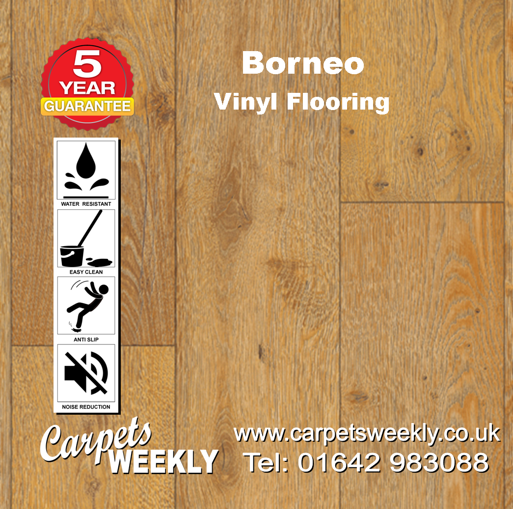 Borneo Vinyl Flooring by Floor Touch from Carpets Weekly