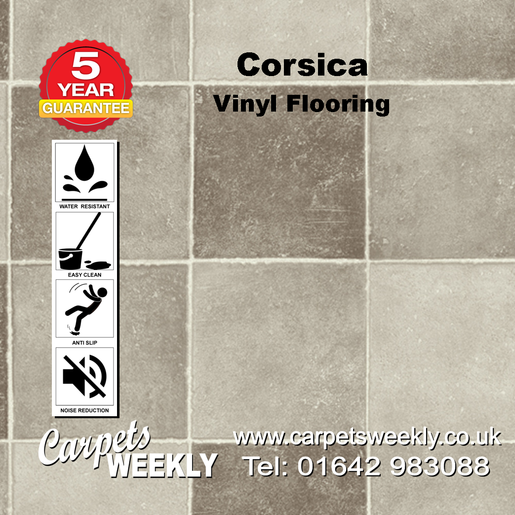 Corsica Vinyl Flooring by Floor Touch from Carpets Weekly