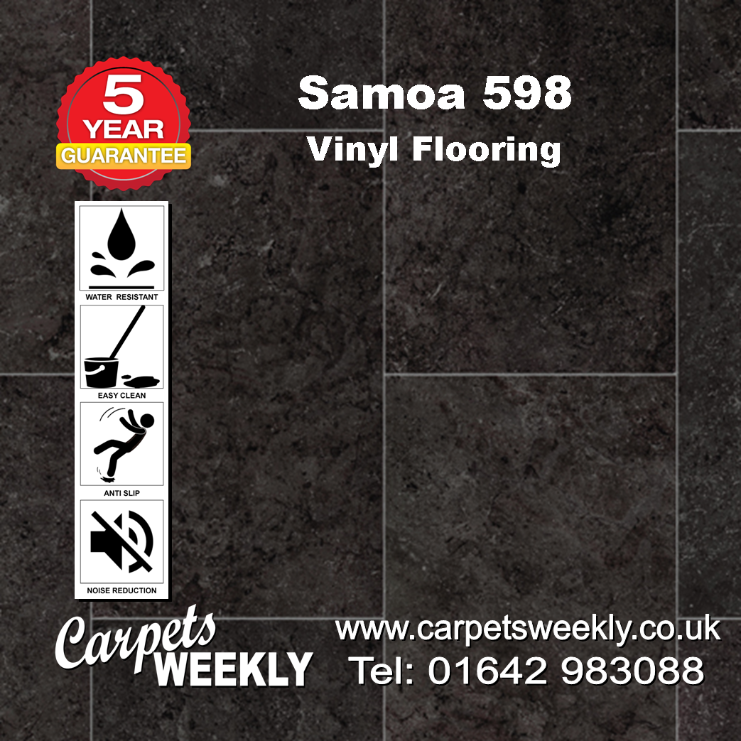 Samoa 598 Vinyl Flooring by Floor Touch from Carpets Weekly