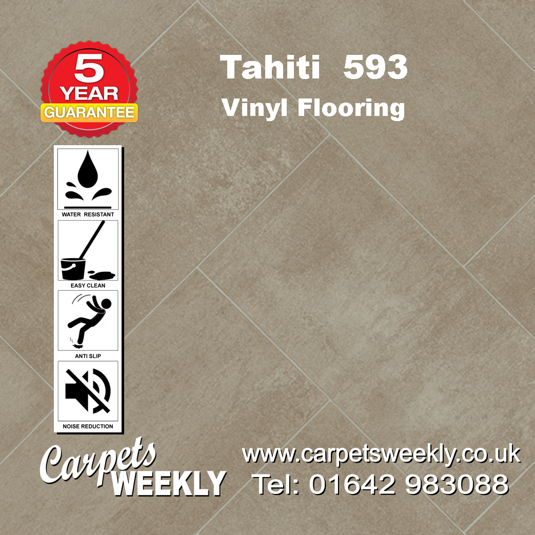 Tahiti 593 Vinyl Flooring by Floor Touch from Carpets Weekly