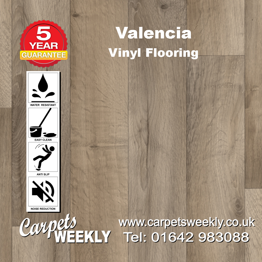 Valencia Vinyl Flooring by Floor Touch from Carpets Weekly