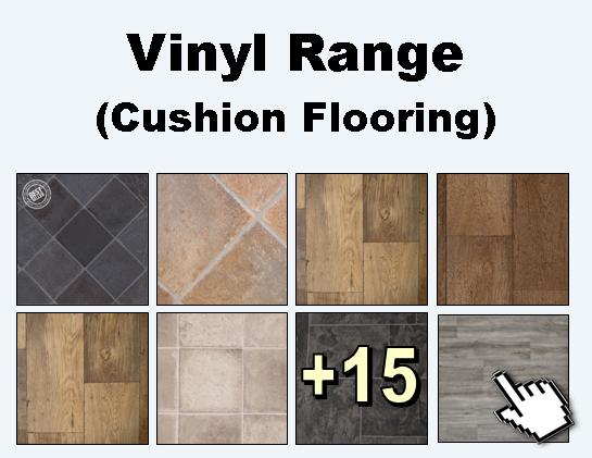Vinyl flooring range from Carpets Weekly