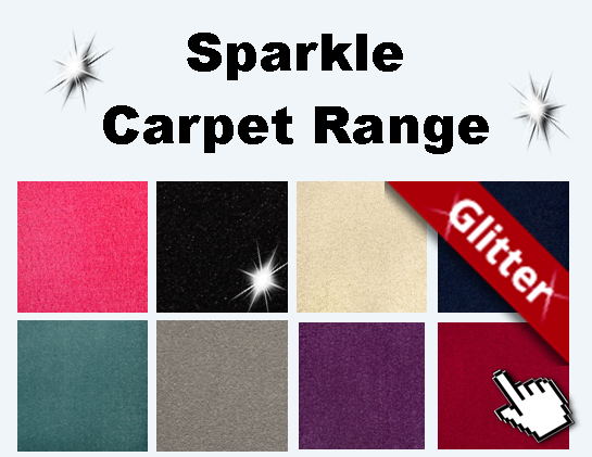 Glitter Sparkle Carpet from Carpets Weekly