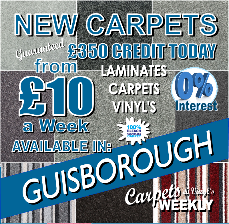 Carpets Weekly available in Guisborough