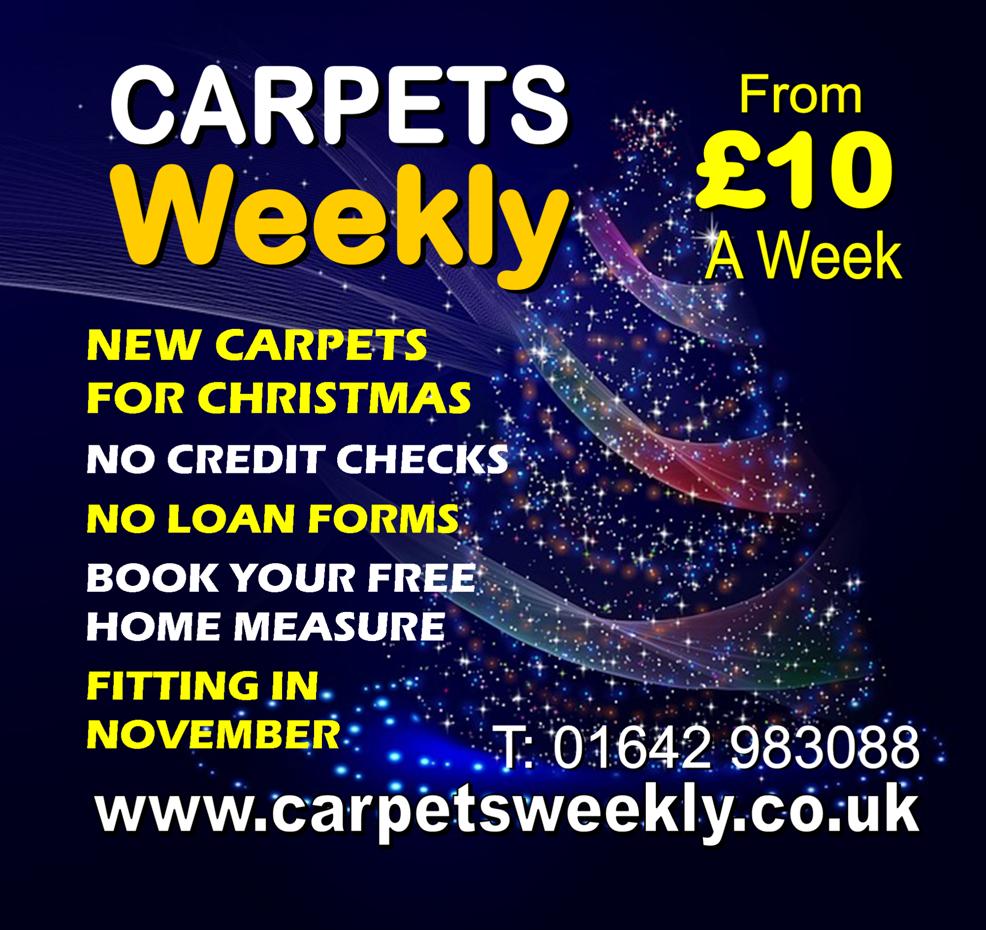 Carpets Weekly this Christmas