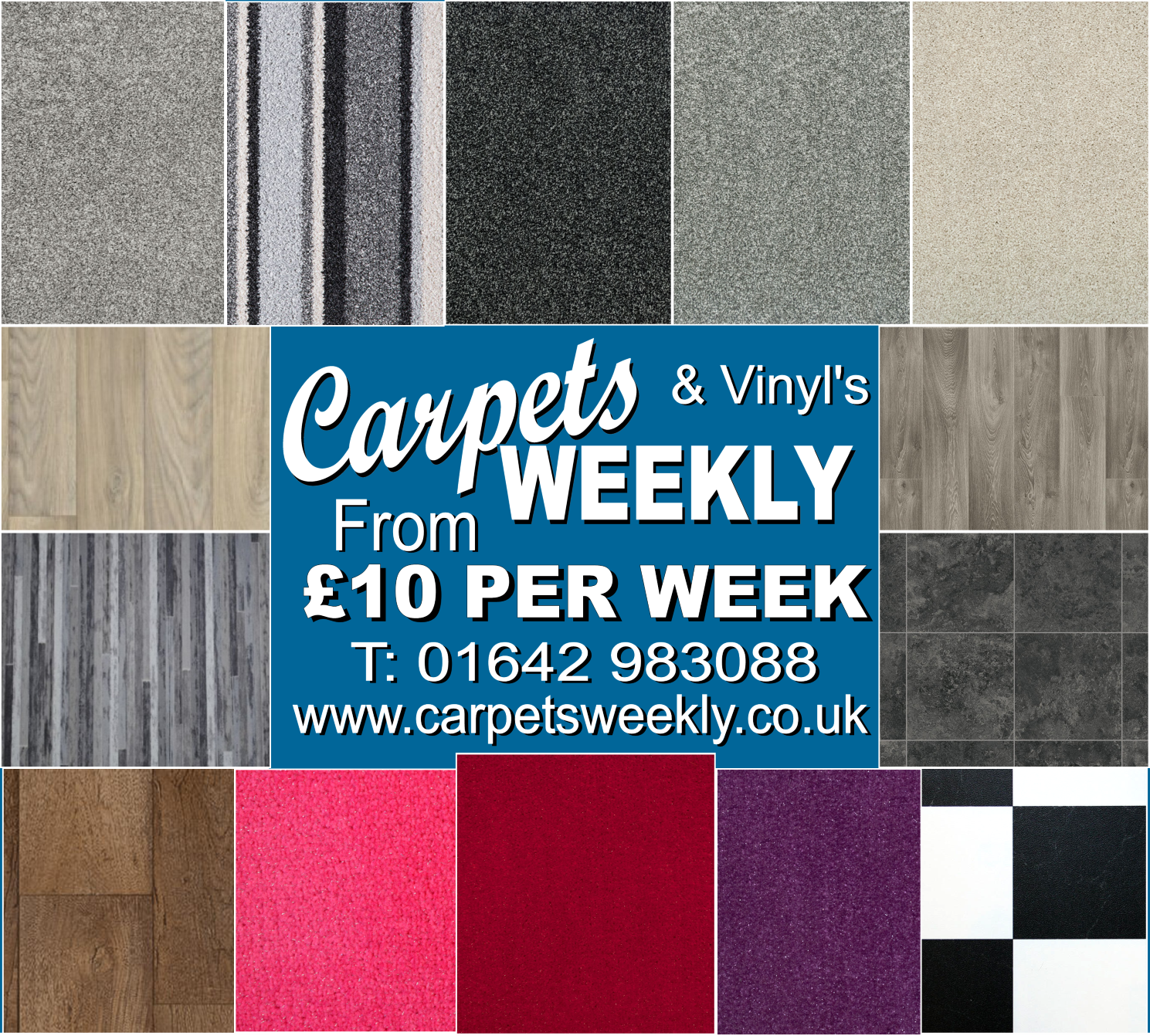 Carpets from £10 a Week from Carpets Weekly