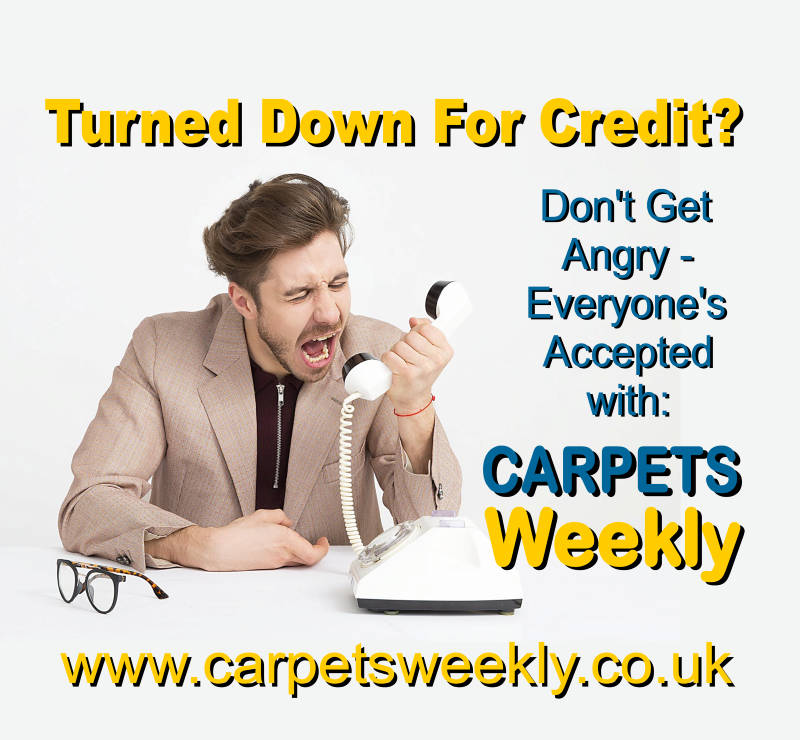 Don't get angry, everyone is accepted with Carpets Weekly