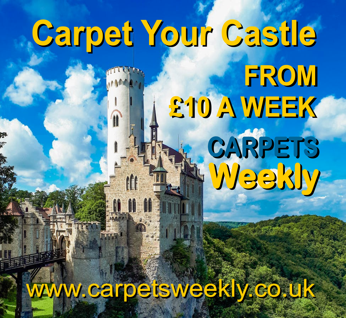 Carpet your Castle with Carpets Weekly