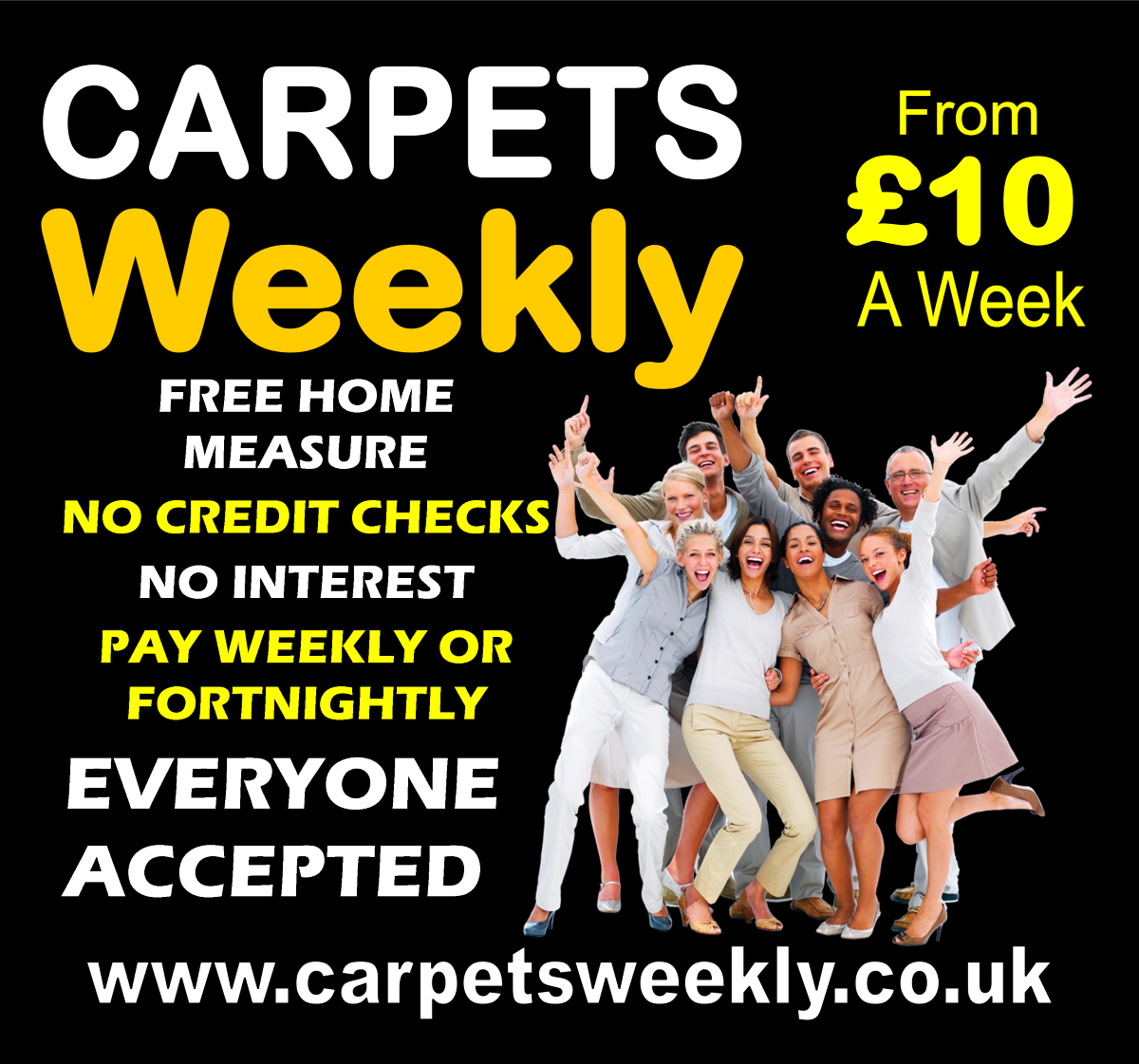 Guaranteed Acceptance with Carpets Weekly