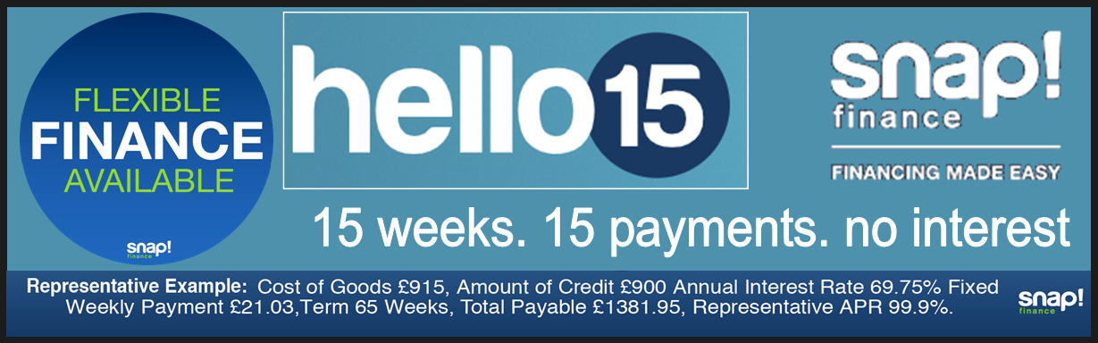 Need more than £400 Credit? Apply here with Snap Finance and Carpets Weekly