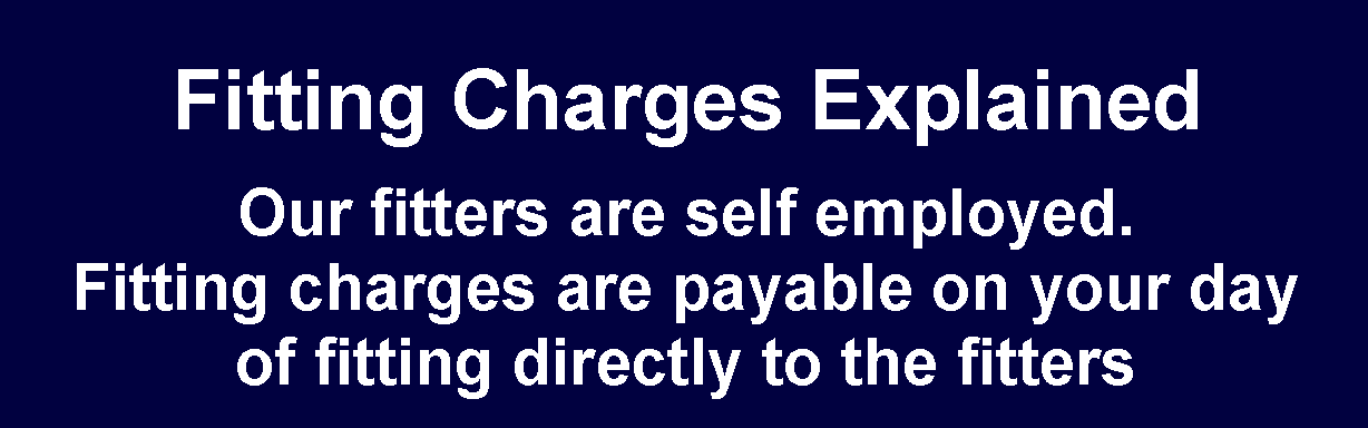 Fitting Charges Explained