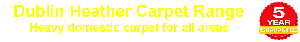 Dublin Heather Carpet Range from Carpets Weekly