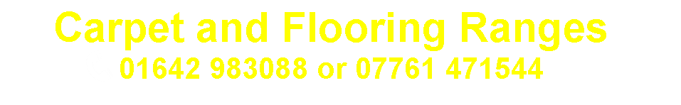 Carpet and Flooring Ranges from Carpets Weekly