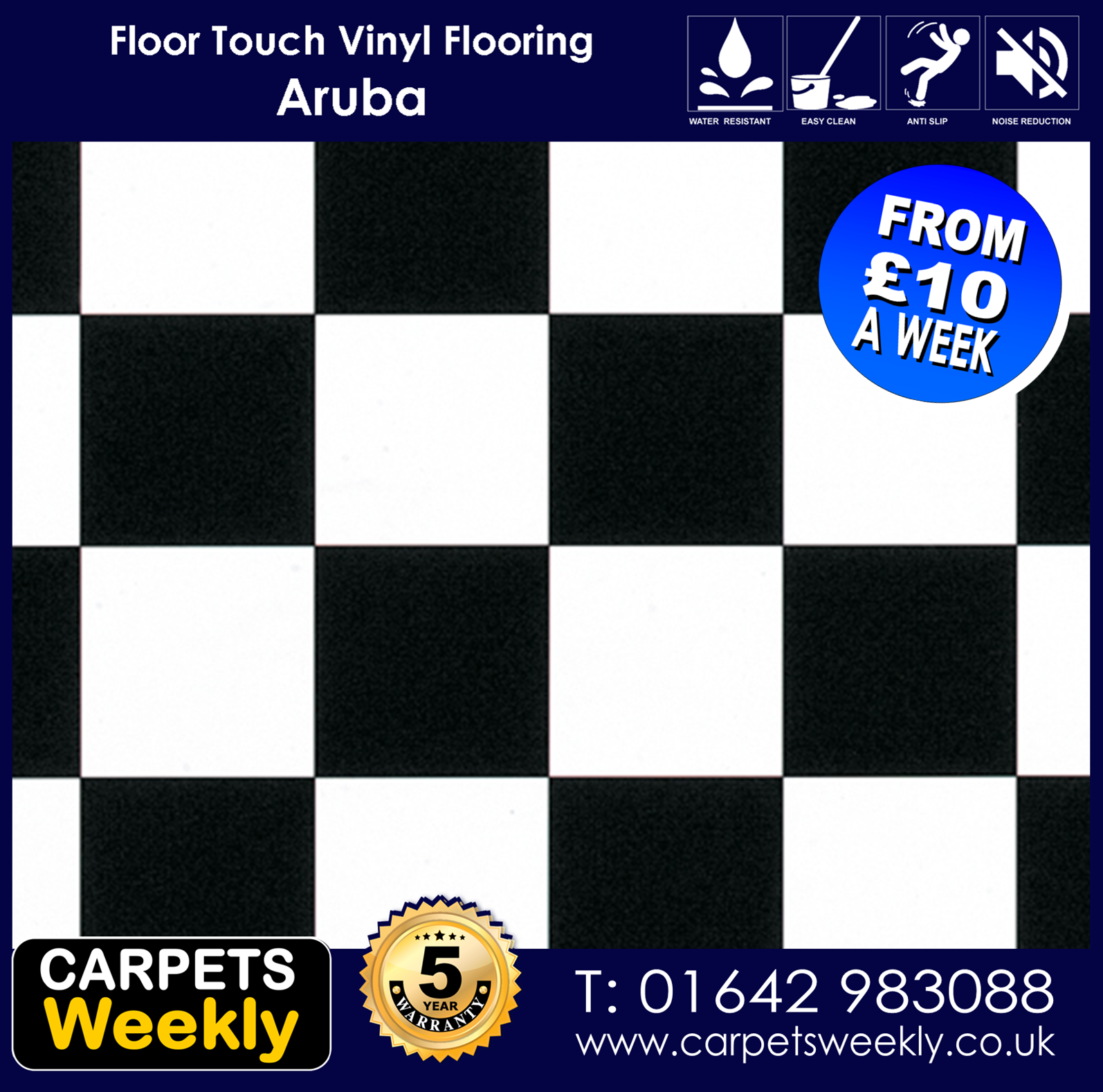 Aruba Vinyl Flooring from Carpets Weekly    by Floor Touch from Carpets Weekly