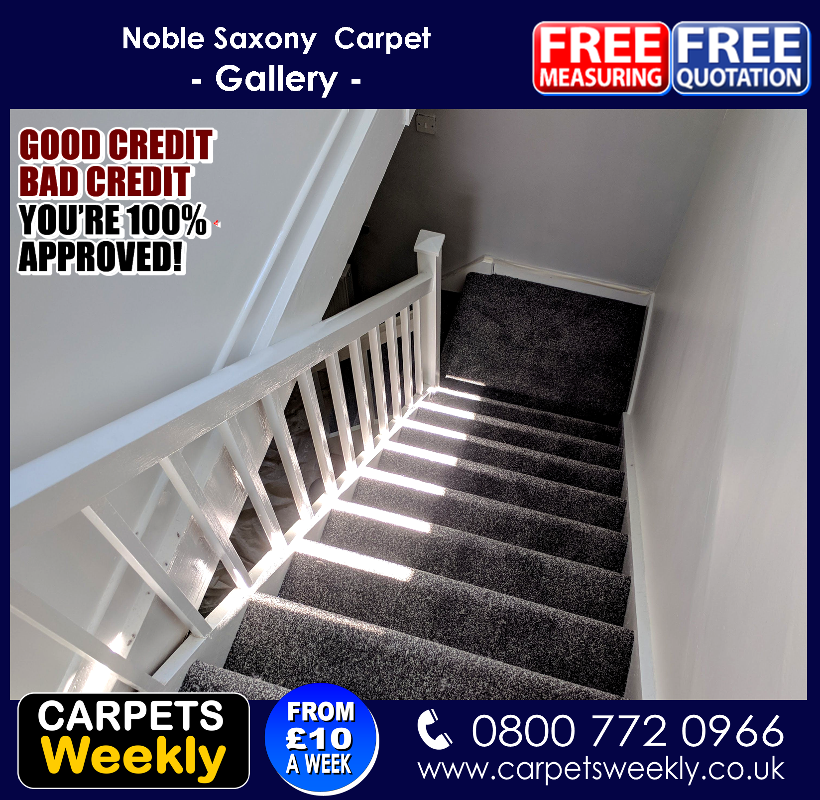 Noble Saxony Carpet Range from Quick Fit Carpets